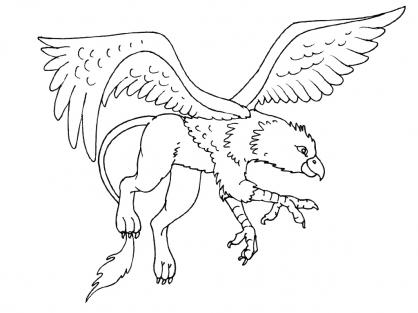 Coloriage Créature 15