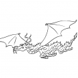 Coloriage Dragon 2