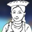 Enfants filles Incas