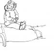 Coloriage Petite fille inuit 12