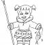 Coloriage Petite fille inuit 29