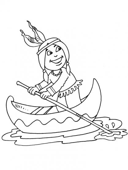 Coloriage petit indien 27 coloriage enfants gar ons indien coloriage personnages - Coloriage petit indien imprimer ...