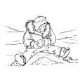 Coloriage Petit inuit 6