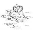 Coloriage Petit inuit 7