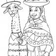 Coloriage Incas 24