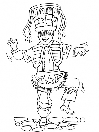 Coloriage Incas 26