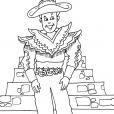 Coloriage Incas 28