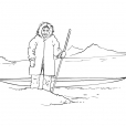 Coloriage Inuit 1