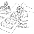 Coloriage Inuit 16