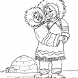 Coloriage Inuit 19