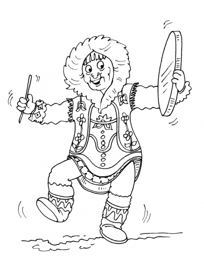 Coloriage Inuit 23