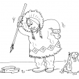 Coloriage Inuit 30