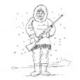 Coloriage Inuit 8