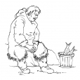 Coloriage Inuit 9