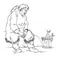 Coloriage Inuit 9