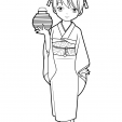Coloriage Manga 2