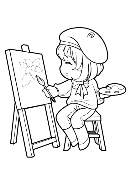Coloriage Manga 20