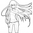 Coloriage Manga 3