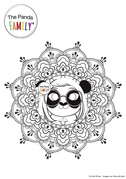 Coloriage Pandy