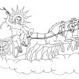Coloriage Mythologie 10
