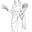 Coloriage Mythologie 12