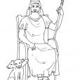 Coloriage Mythologie 13