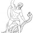 Coloriage Mythologie 3