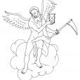 Coloriage Mythologie 7