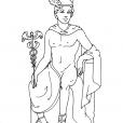 Coloriage Mythologie 8