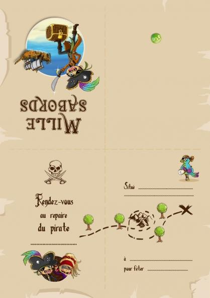 Coloriage Pirate 18
