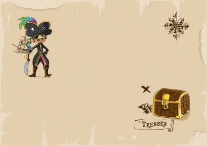 Coloriage Pirate 28