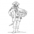 Coloriage Pirate 7