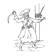 Coloriage Pirate 8