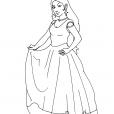 Coloriage Princesse 4