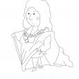 Coloriage Quelle histoire : Louis XIV 1