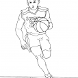 Coloriage Basket 14