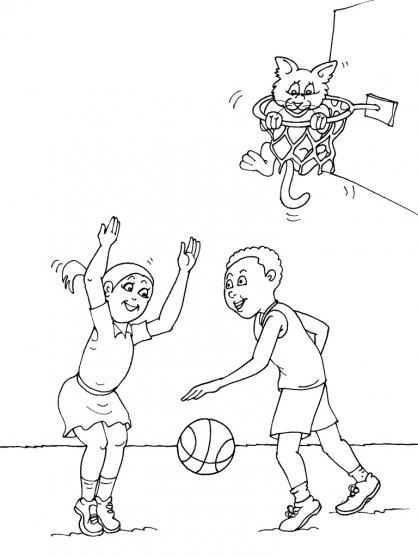 Coloriage Basket 16