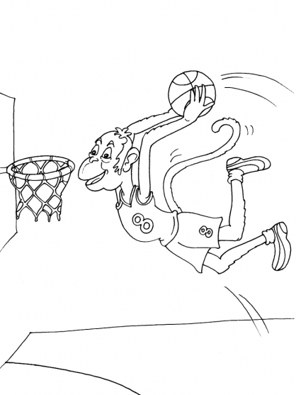 Coloriage Basket 17