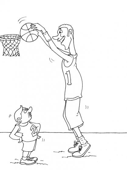 Coloriage Basket 20