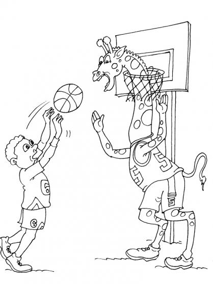 Coloriage Basket 22