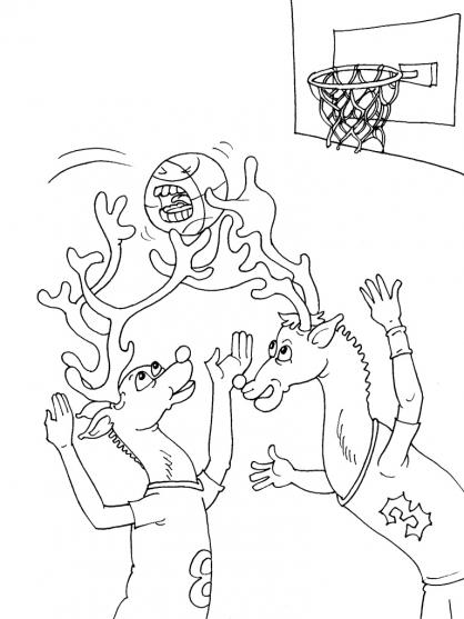 Coloriage Basket 24