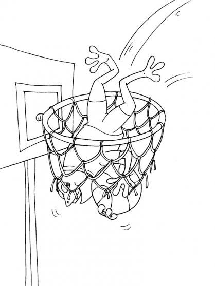 Coloriage Basket 26