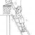 Coloriage Basket 30
