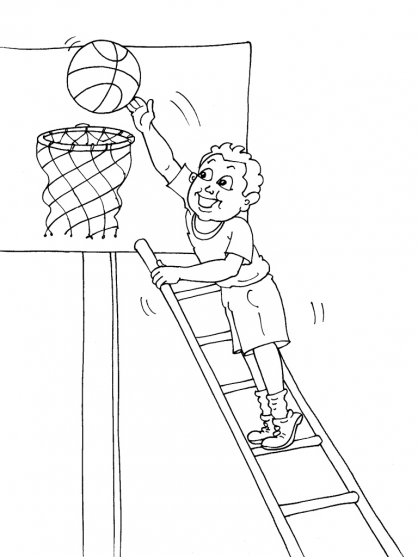 Coloriage Basket 30