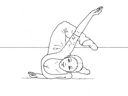 Coloriage Danse 1