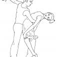 Coloriage Danse 11