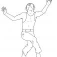 Coloriage Danse 14