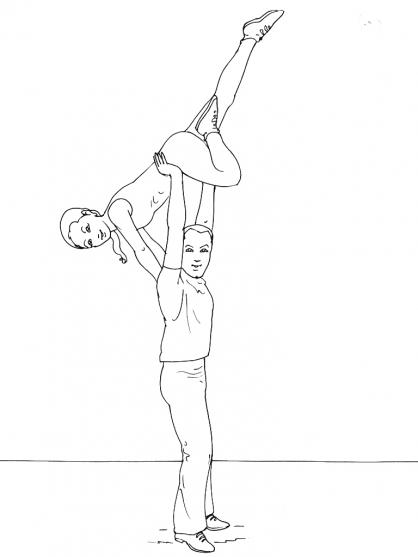 Coloriage Danse 2