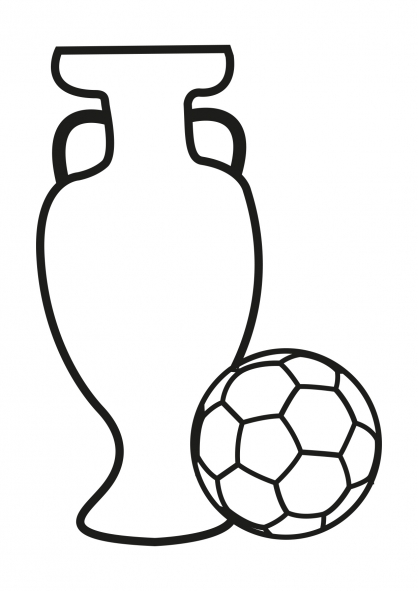 Coloriage Football 10
