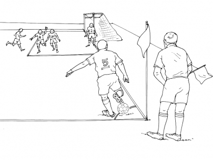 Coloriage Football 13
